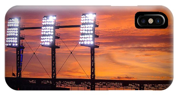 Ballpark At Sunset IPhone Case