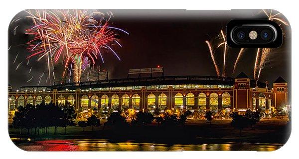 Ballpark Fireworks IPhone Case