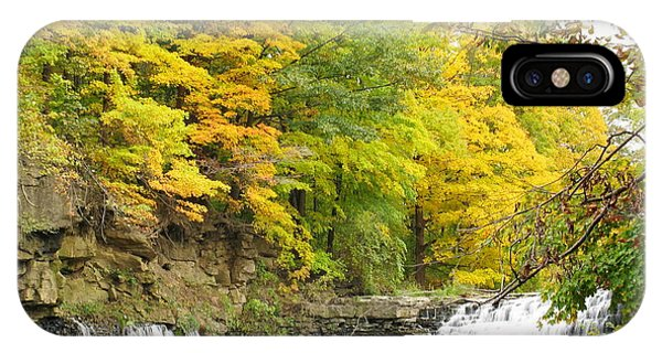 Balls Falls In Autumn Color IPhone Case