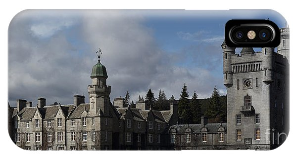 Balmoral Castle In A Closeup Panorama IPhone Case