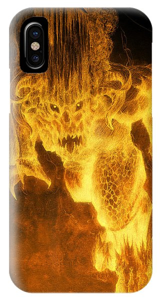 Balrog Of Morgoth IPhone Case