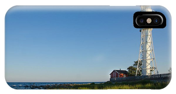 Baltic Sea Lighthouse IPhone Case