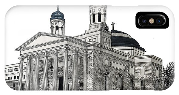 Baltimore Basilica IPhone Case