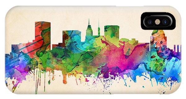 Baltimore Cityscape IPhone Case