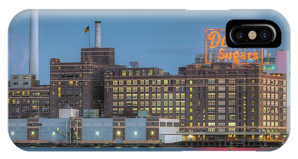Baltimore Domino Sugars Plant I IPhone Case