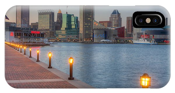 Baltimore Skyline At Twilight I IPhone Case