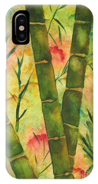 Bamboo Garden IPhone Case