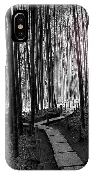 Bamboo Grove At Dusk IPhone Case
