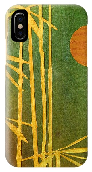 Bamboo Moon IPhone Case