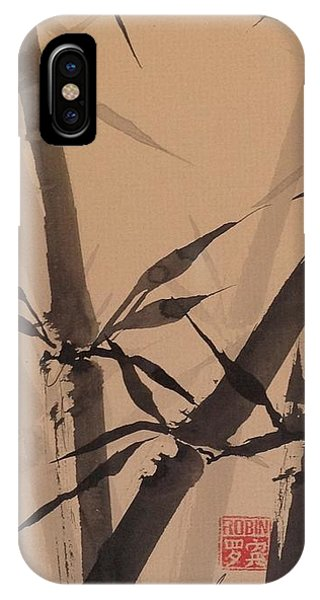 Bamboo Study #1 On Tagboard IPhone Case