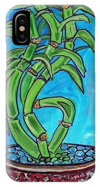 Bamboo Twist IPhone Case