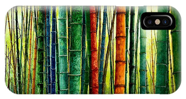 Bamboos Defining Lightways To The Sun IPhone Case