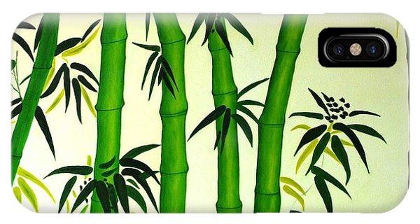 Bamboos IPhone Case
