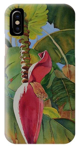Banana Beginnings IPhone Case