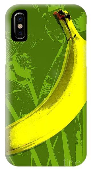 Banana Pop Art IPhone Case