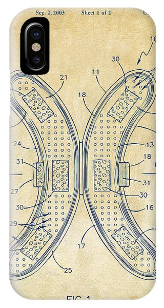 Novelty iPhone Case - Banana Protection Device Patent Vintage by Nikki Marie Smith