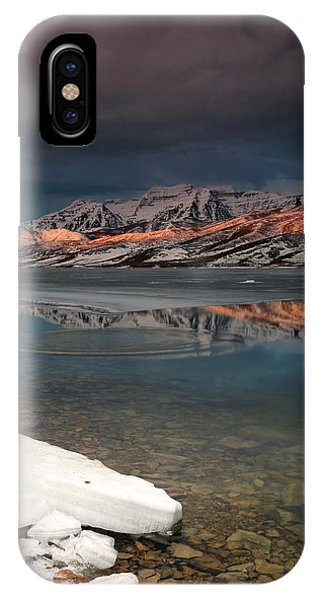 Band Of Light Over Deer Creek. IPhone Case