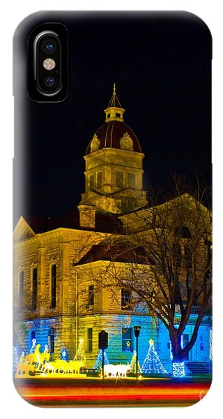 Bandera County Courthouse IPhone Case