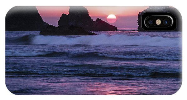 Bandon Beach Sunset IPhone Case