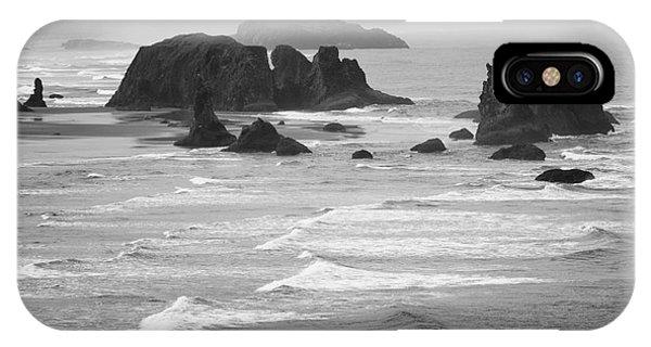 Bandon Sea Stacks IPhone Case