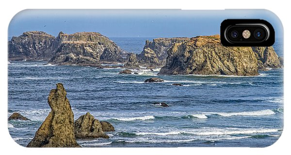 Bandon Beach Landscape IPhone Case