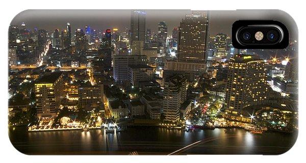 Bangkok All Profits Go To Hospice Of The Calumet Area IPhone Case