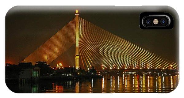 Bangkok By Night IPhone Case