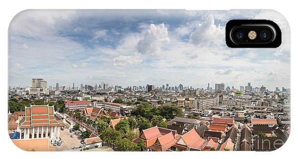 Bangkok Panorama IPhone Case