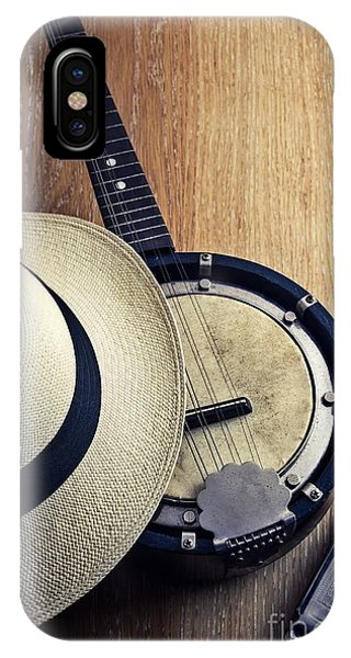 Culture Club iPhone Case - Banjo And Harp by Carlos Caetano