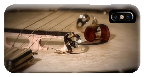 Musical iPhone Case - Banjo by Tom Mc Nemar