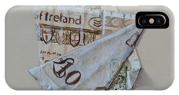 Bank Of Ireland Ten Pound Banknote IPhone Case