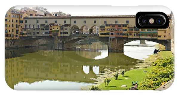 Bank Of The Arno IPhone Case