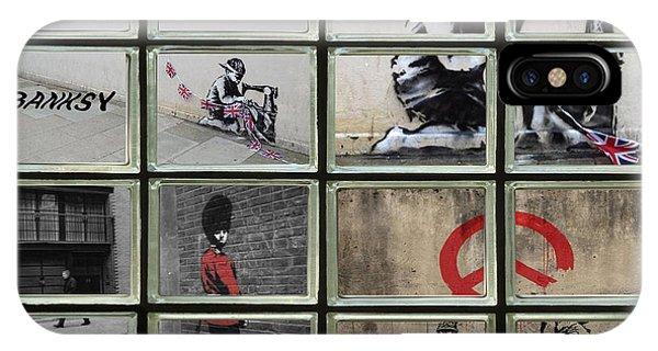 Banksy Street Art IPhone Case
