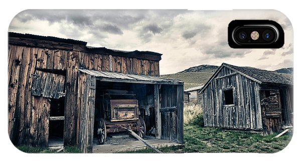 Bannack Carriage House IPhone Case