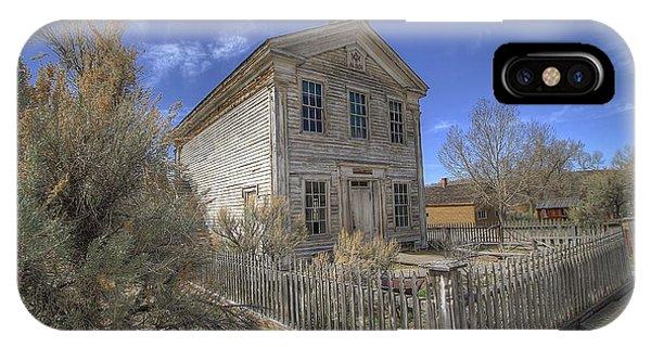 Bannack Lodge # 16 IPhone Case