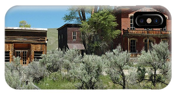 Bannack Montana's Hotel Meade IPhone Case