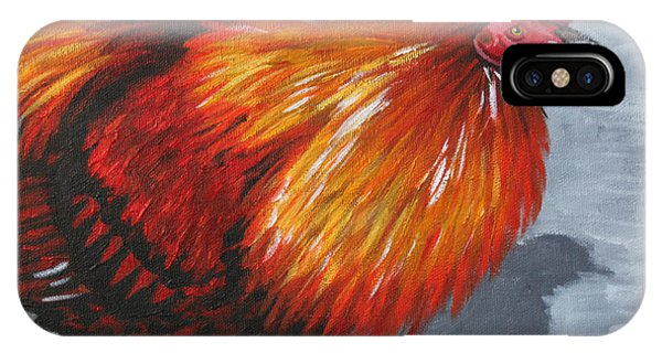 Bantam Rooster 2 IPhone Case