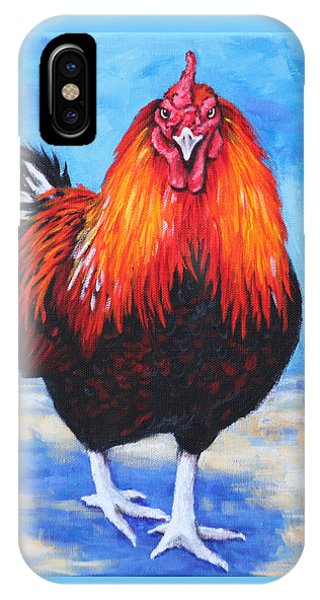 Bantam Rooster IPhone Case