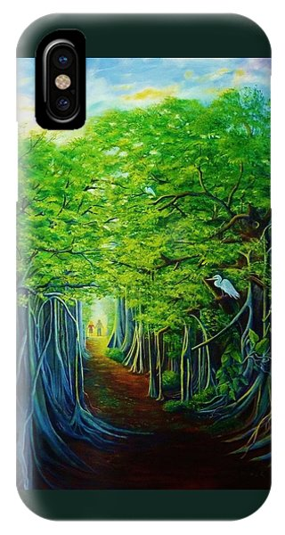 Banyan Walk IPhone Case