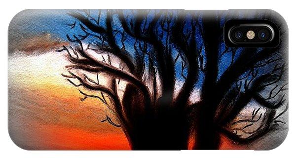 Baobab Tree 2 IPhone Case