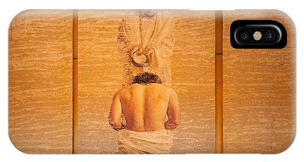 Baptism Of Jesus By Saint John The Baptist - Cathedral Of Our Lady Of The Angels Los Angeles IPhone Case