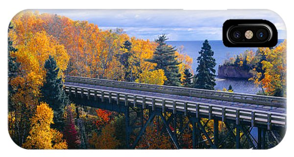 Baptism River Into Lake Superior IPhone Case