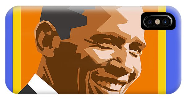 Barack Obama iPhone Case - Barack by Douglas Simonson