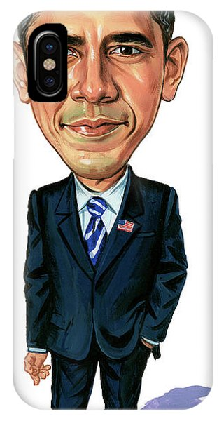 Barack Obama iPhone Case - Barack Obama by Art
