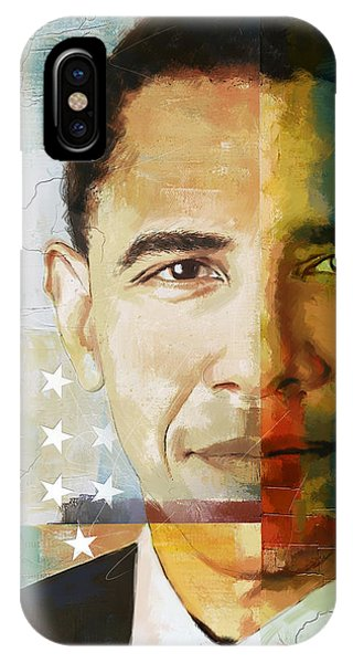 Barack Obama iPhone Case - Barack Obama by Corporate Art Task Force