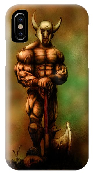 Barbarian King IPhone Case