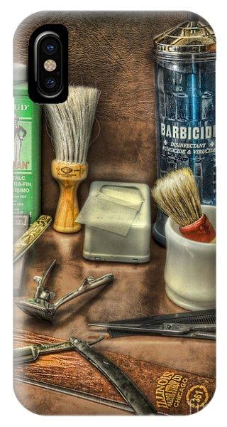 Barber Shop Tools  Phone Case by Lee Dos Santos