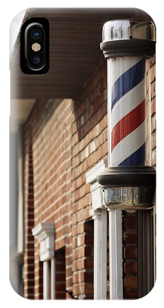 Barber Smithtown New York IPhone Case