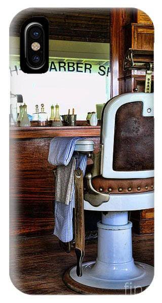 Design iPhone Case - Barber - The Barber Shop by Paul Ward