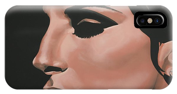 Musical iPhone Case - Barbra Streisand by Paul Meijering